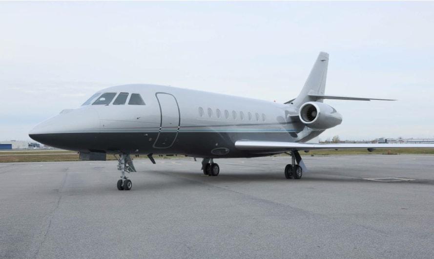 Private jet for sale charter: 2009 Dassault Falcon 2000LX heavy jet