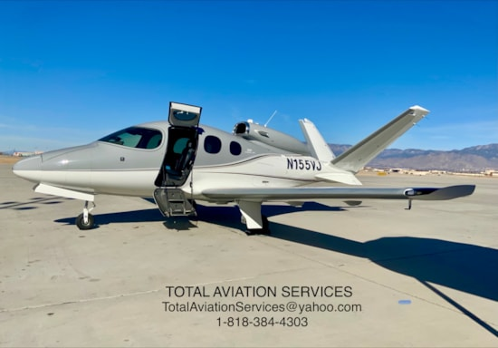 Aircraft Listing - Vision SF50 listed for sale