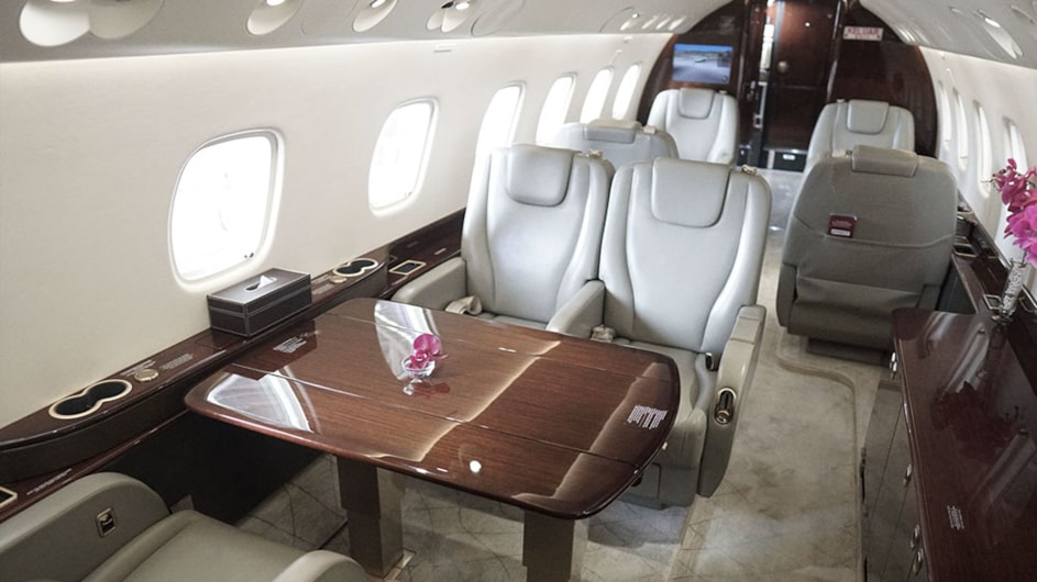 Private jet for sale charter: 2016 Embraer Legacy 650 heavy jet