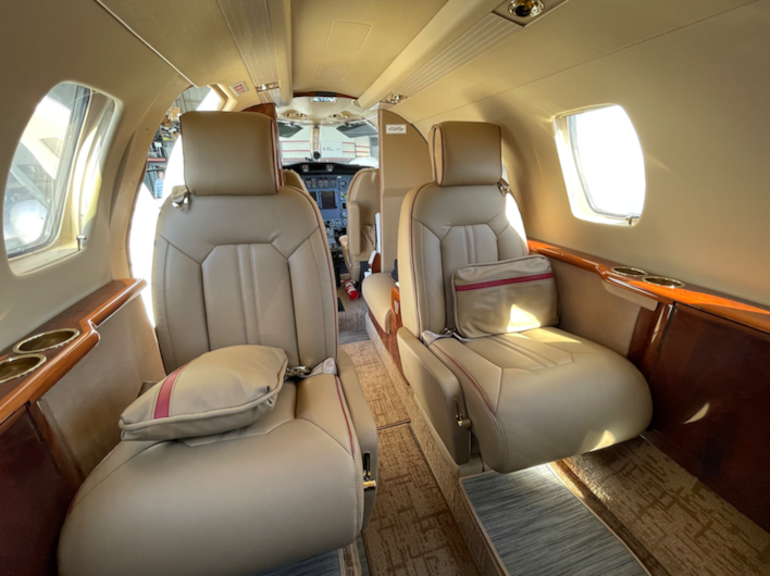 Private jet for sale charter: 1998 Citation Jet (C525) light jet