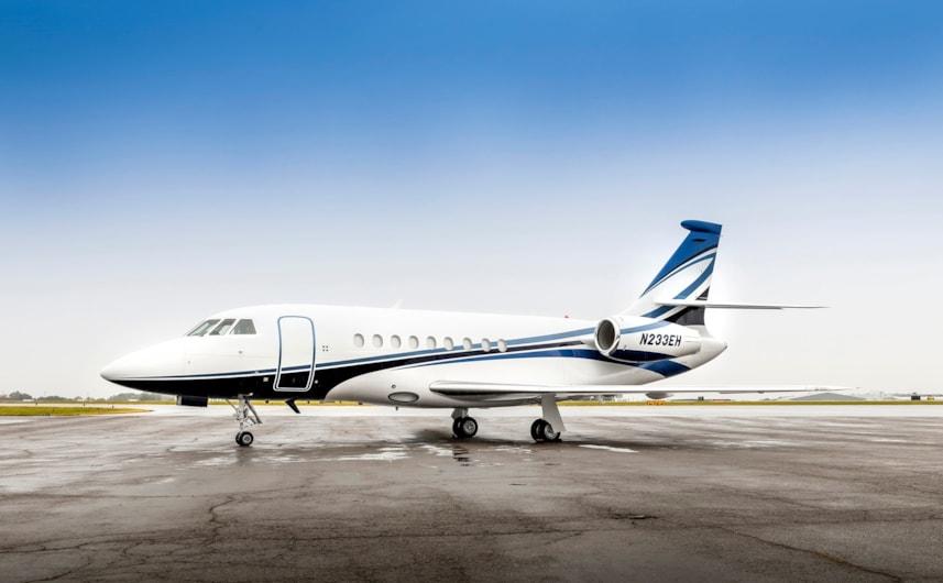 Private jet for sale charter: 2002 Dassault Falcon 2000 heavy jet