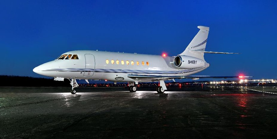 Private jet for sale charter: 2004 Dassault Falcon 2000EX EASy heavy jet