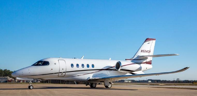 Private jet for sale charter: 2018 Cessna Citation Latitude super-midsize jet