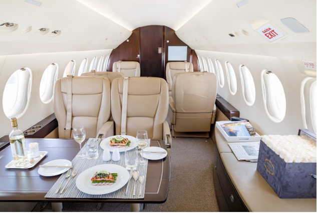 Private jet for sale charter: 2011 Dassault Falcon 7X heavy jet