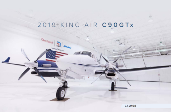 Aircraft Listing - King Air C90GTx listed for sale