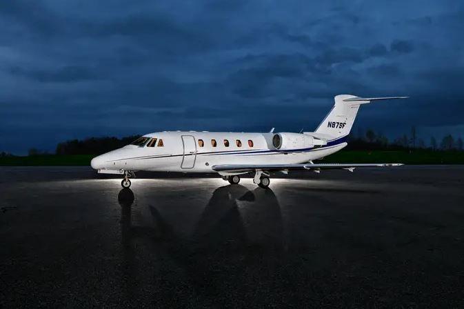 Private jet for sale charter: 1998 Cessna Citation VII midsize jet