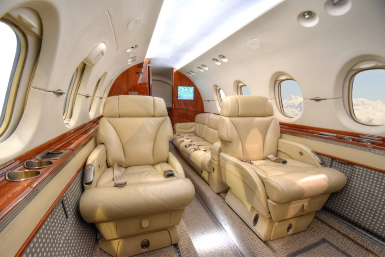 Private jet for sale charter: 2007 Hawker 850XP midsize jet