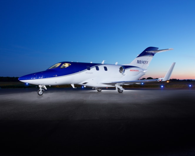 Private jet for sale charter: 2017 HondaJet HA-420 very light jet