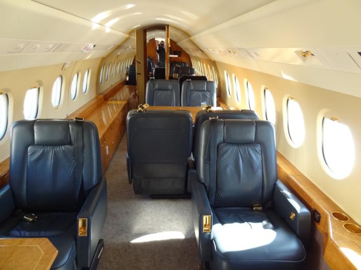 Private jet for sale charter: 1999 Dassault Falcon 2000 heavy jet