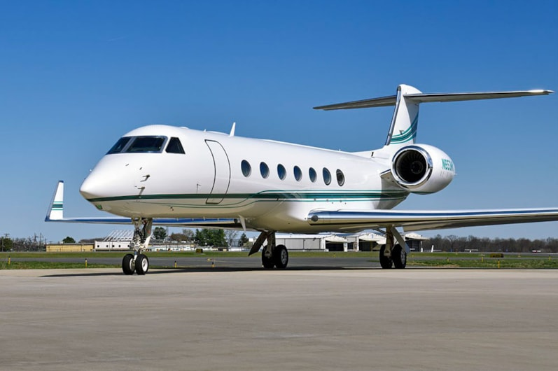 Private jet for sale charter: 2009 Gulfstream G550 heavy jet