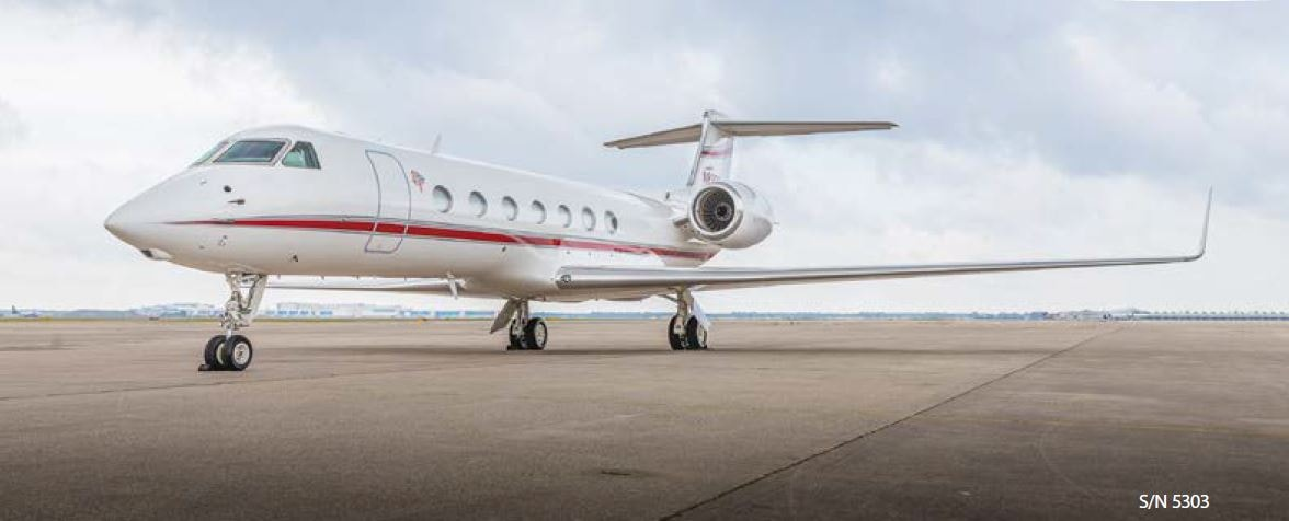 Private jet for sale charter: 2010 Gulfstream G550 heavy jet