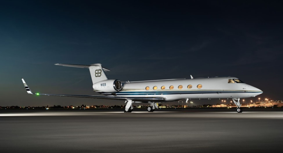 Private jet for sale charter: 2008 Gulfstream G550 heavy jet