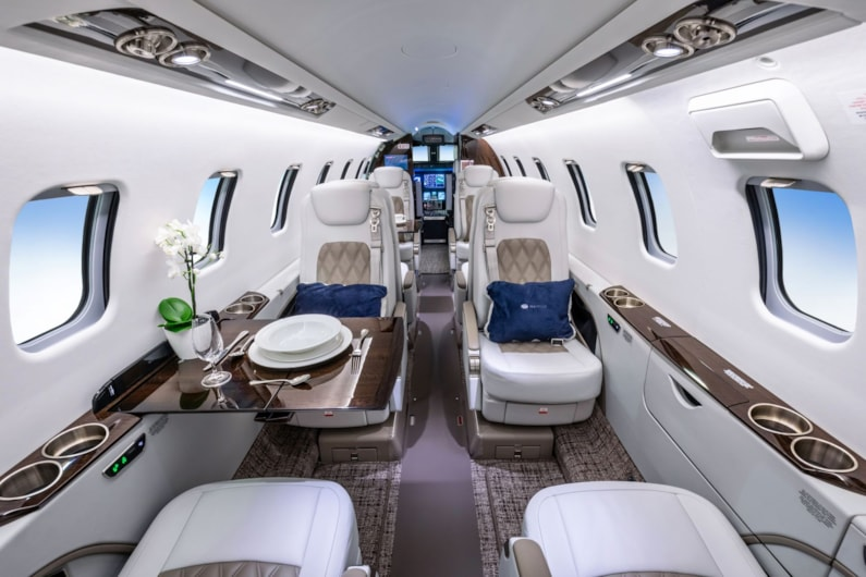 Private jet for sale charter: 2019 Bombardier Learjet 75 light jet