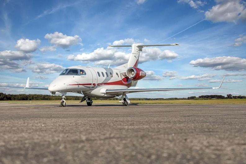 Private jet for sale charter: 2010 Embraer Phenom 300 light jet