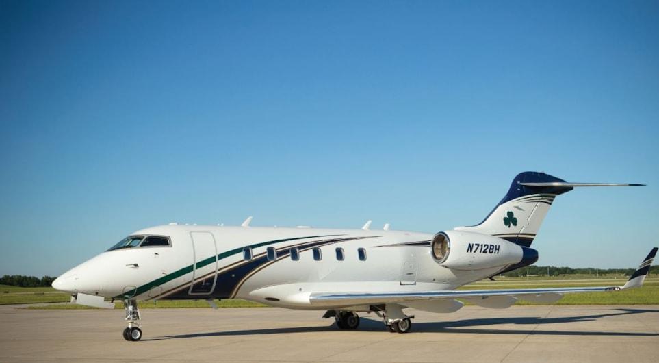 Private jet for sale charter: 2007 Bombardier Challenger 300 super-midsize jet