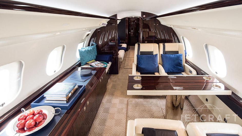 Private jet for sale charter: 2015 Bombardier Global 6000 heavy jet
