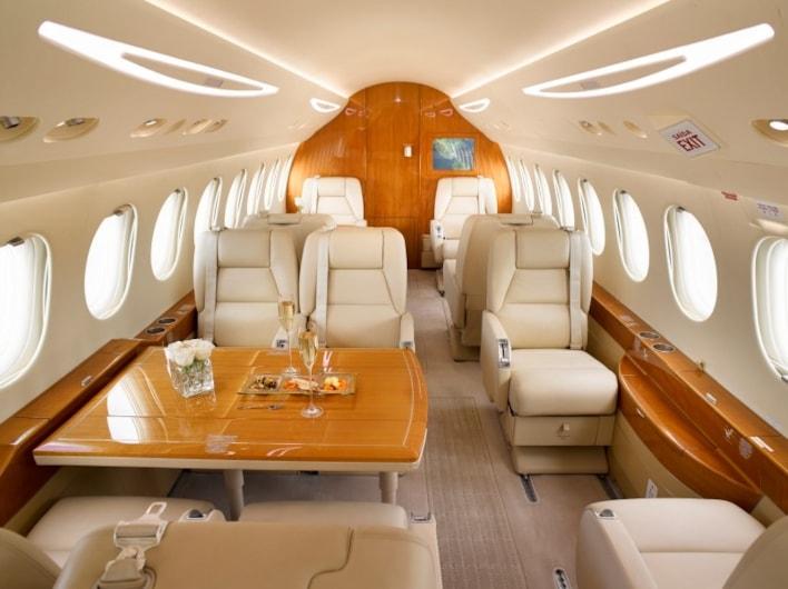 Private jet for sale charter: 2007 Dassault Falcon 7X heavy jet