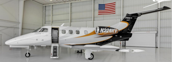 Aircraft Listing - Phenom 100 listed for sale