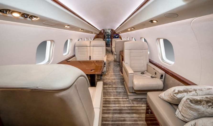 Private jet for sale charter: 2006 Bombardier Global XRS heavy jet