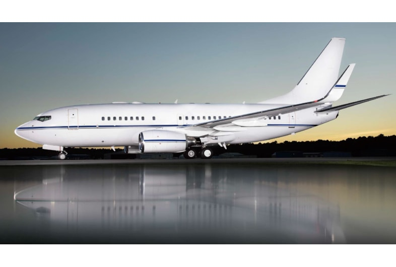 Private jet for sale charter: 2001 Boeing Business Jet VIP airliner