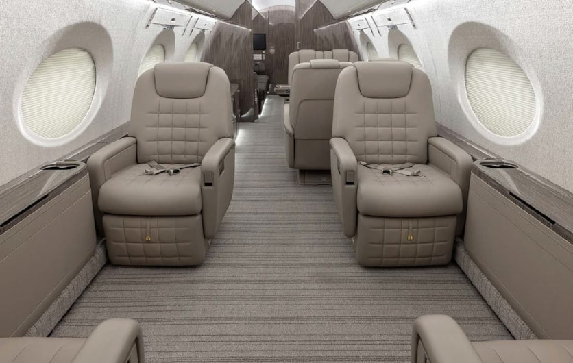 Private jet for sale charter: 2019 Gulfstream G500 heavy jet