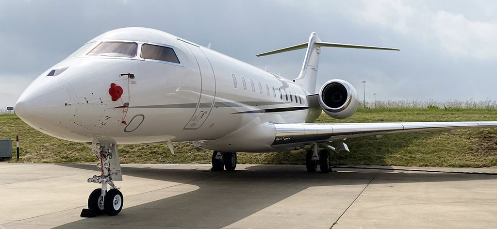 Private jet for sale charter: 2014 Bombardier Global 5000 heavy jet