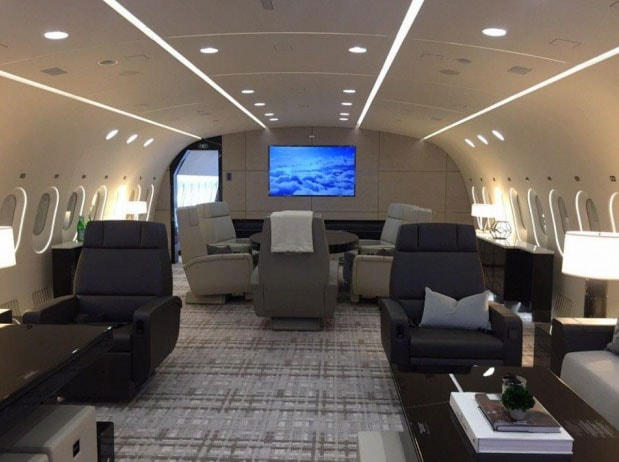 Private jet for sale charter: 2015 Boeing BBJ 787-8 VIP Airliner