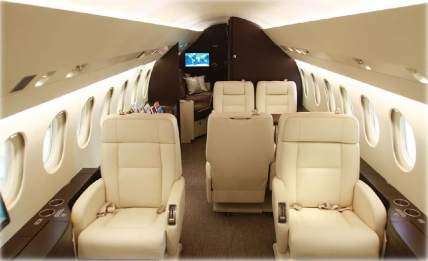 Private jet for sale charter: 2007 Falcon 900DX EASy heavy jet