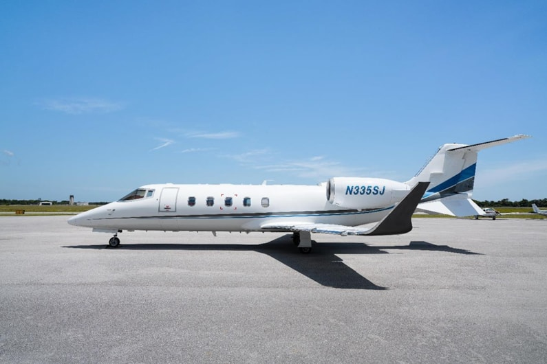 Private jet for sale charter: 2008 Bombardier Learjet 60XR midsize jet