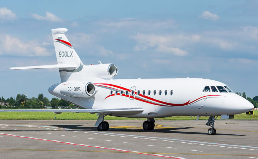 Private jet for sale charter: 2015 Dassault Falcon 900LX heavy jet