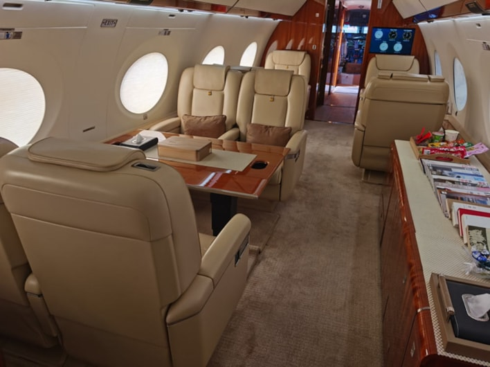 Private jet for sale charter: 2016 Gulfstream G650 heavy jet