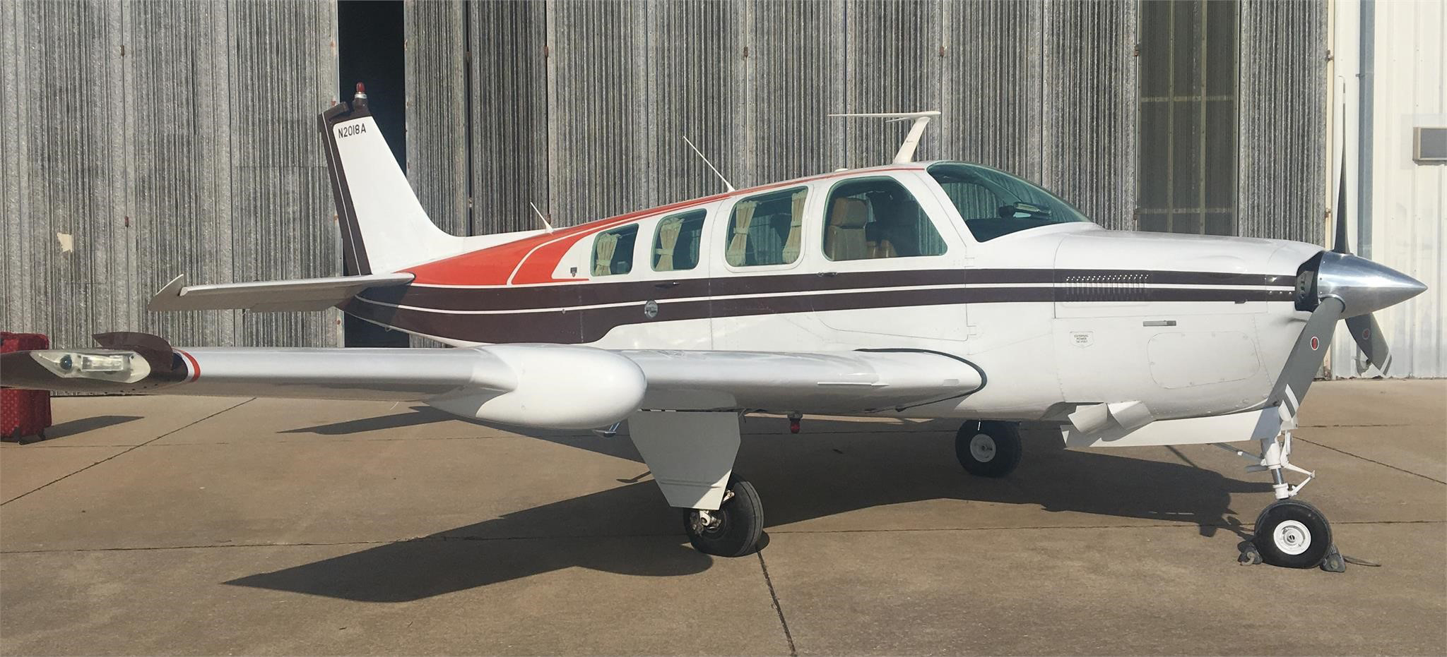 Aircraft Listing - Bonanza A36 listed for sale