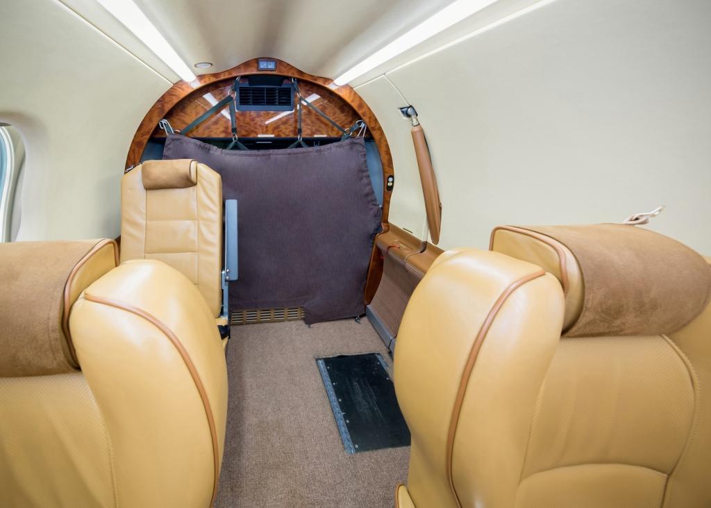 Pilatus PC-12 interior