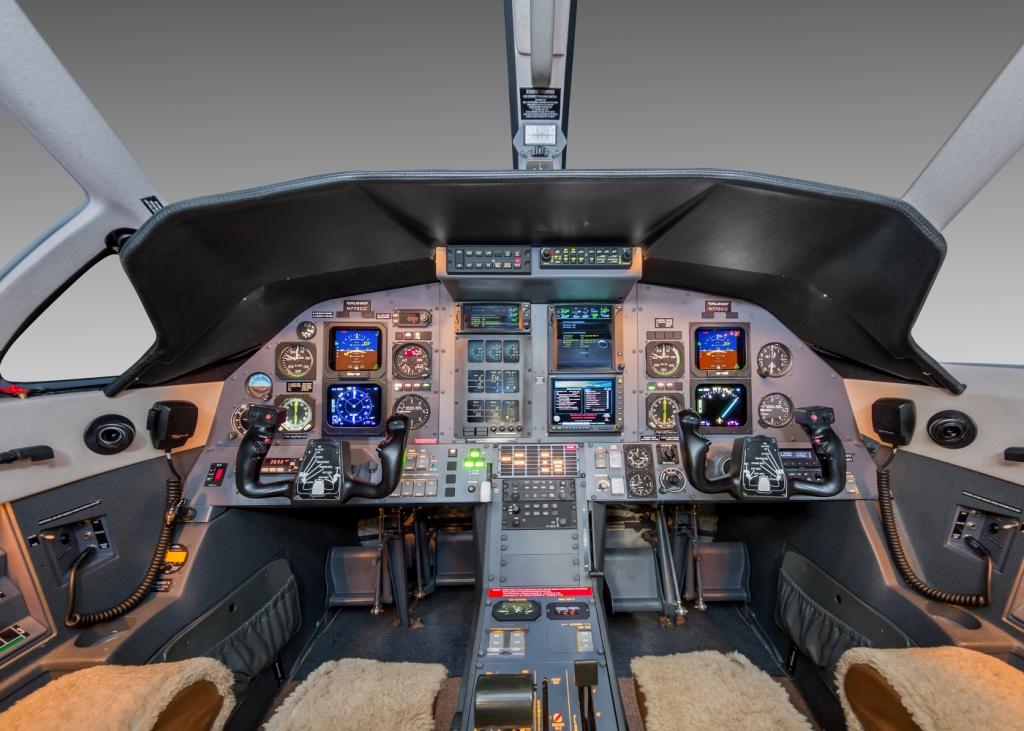 Pilatus PC-12 panel