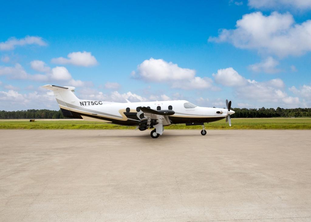 Pilatus PC-12 exterior