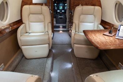 Private jet for sale charter: 2008 Gulfstream G200 super-midsize jet