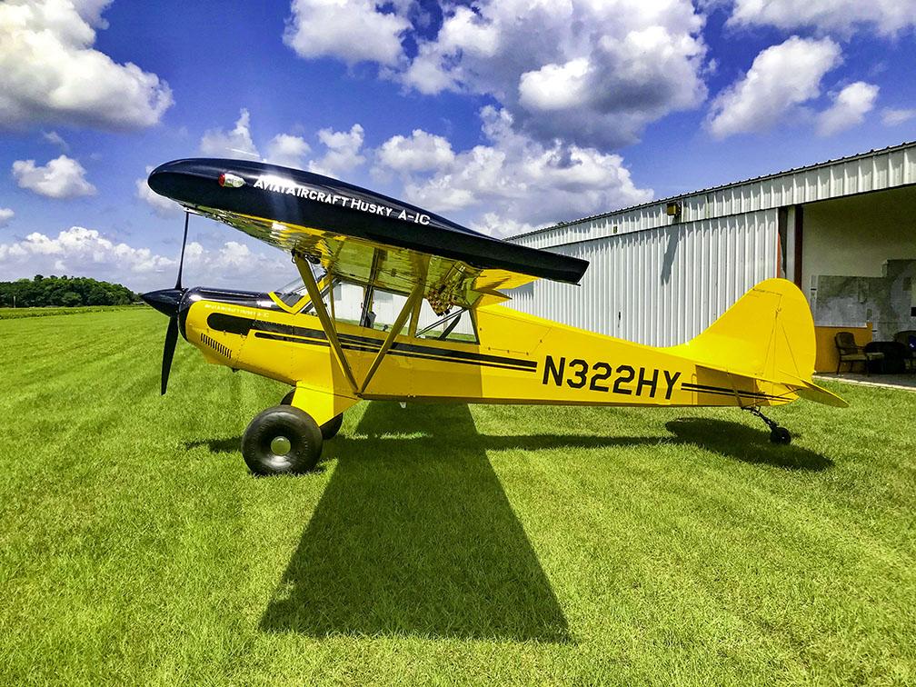 Aircraft Listing - Husky A-1C listed for sale