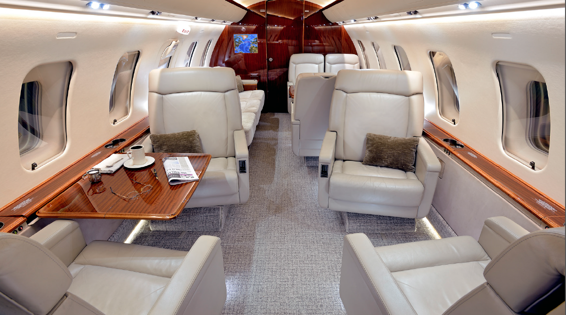Private jet for sale charter: 2008 Bombardier Challenger 605 heavy jet