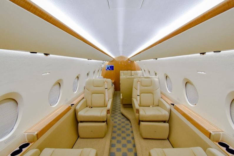 Private jet for sale charter: 2013 Gulfstream G280 super-midsize jet