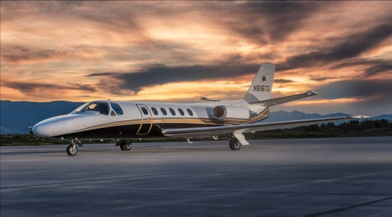 Private jet for sale charter: 1986 Cessna Citation S/II light jet