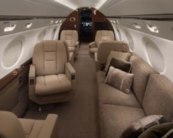Private jet for sale charter: 2014 Gulfstream G550 long range heavy jet