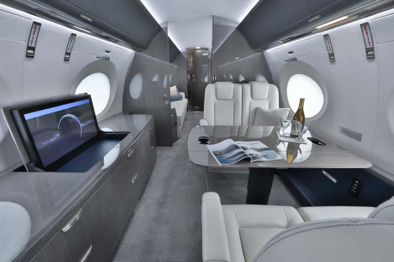 Private jet for sale charter: 2018 Gulfstream G500 heavy jet