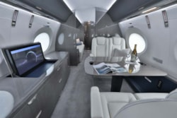 Private jet for sale charter: 2018 Gulfstream G500 long range heavy jet