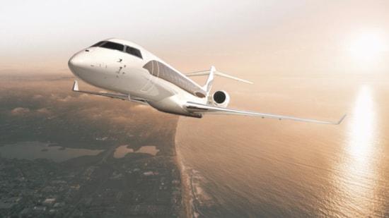 Global 7500 ultra long range heavy jet