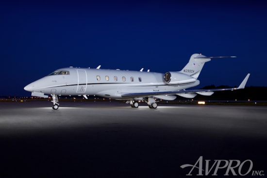 Private jet for sale charter: 2005 Bombardier Challenger 300 super-midsize jet