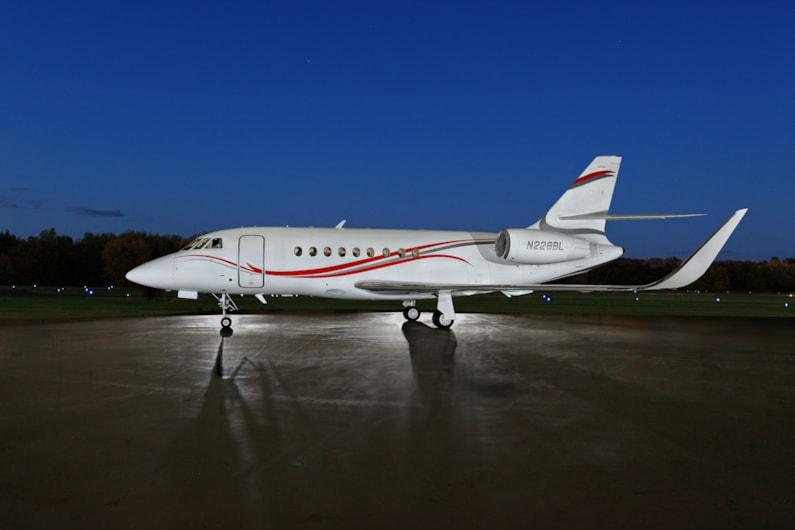 Private jet for sale charter: 2011 Dassault Falcon 2000LX heavy jet