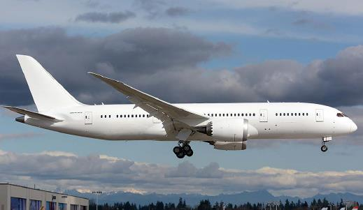 Aircraft Listing - Boeing BBJ 787-8 listed for sale