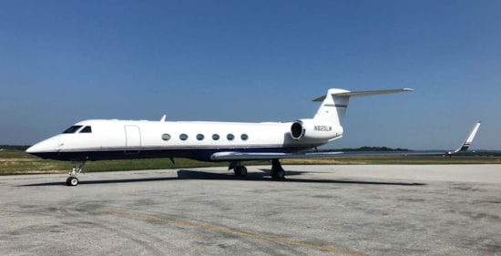 Private jet for sale charter: 2001 Gulfstream V heavy jet