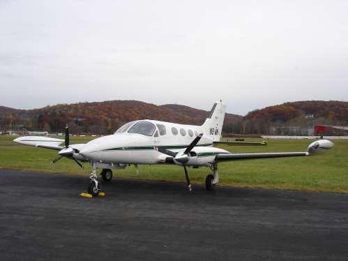 Cessna 414 RAM exterior