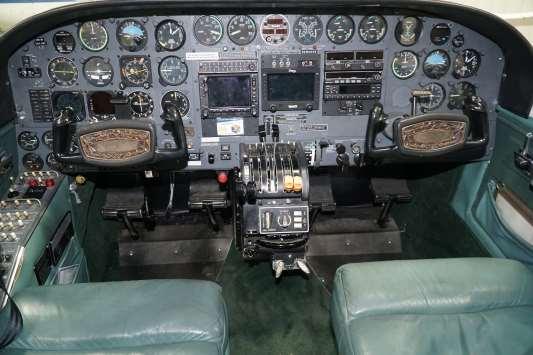 Cessna 414 RAM panel